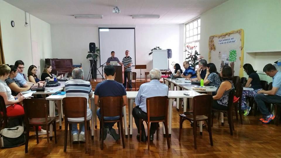 Treinamento de liderança na IB Paulistana