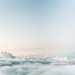 liberdade, céu, nuvens